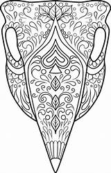 Coloring Skull Sugar Skulls Animal Adult Candy Printable Doodle Colouring Cow Coloriage Sheets Dessin Kidspressmagazine Designs Colorier Mandala Mandalas Dialogue sketch template