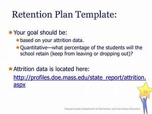 ppt recruitment retention plans powerpoint With student retention plan template