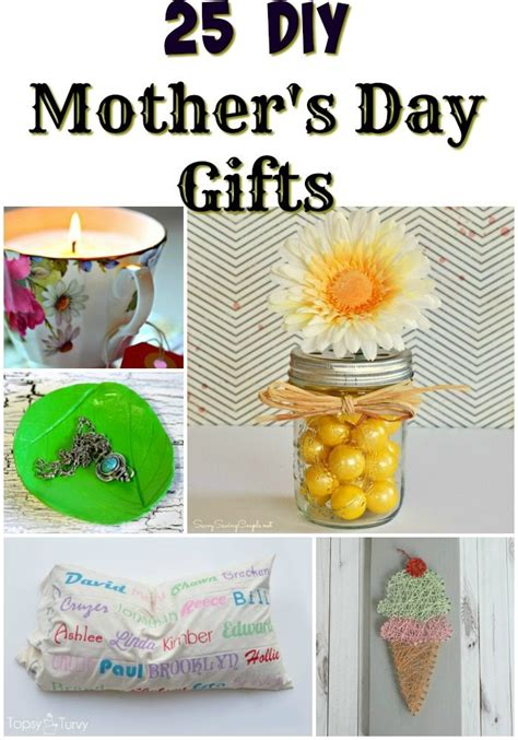 25 s day 25 diy mother s day gifts