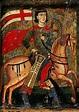 Byzantine Painting of a Latin Empire Crusader (St. Sergius ...