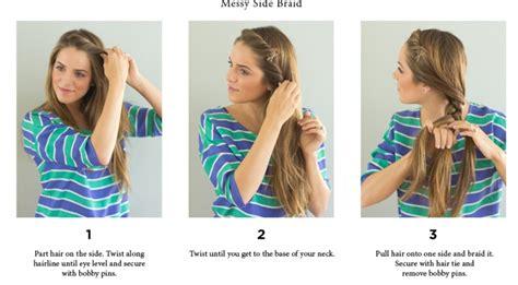 step  step easy hairstyles instruction  longmedium