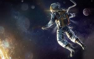 digital Art, Astronaut, Space, Sun Wallpapers HD / Desktop ...