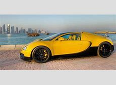 Too Much Bugatti Introduces Special Edition Veyron In Qatar