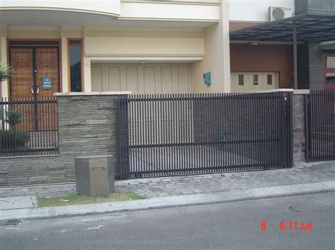 pagar minimalis  rumah minimalis desain model