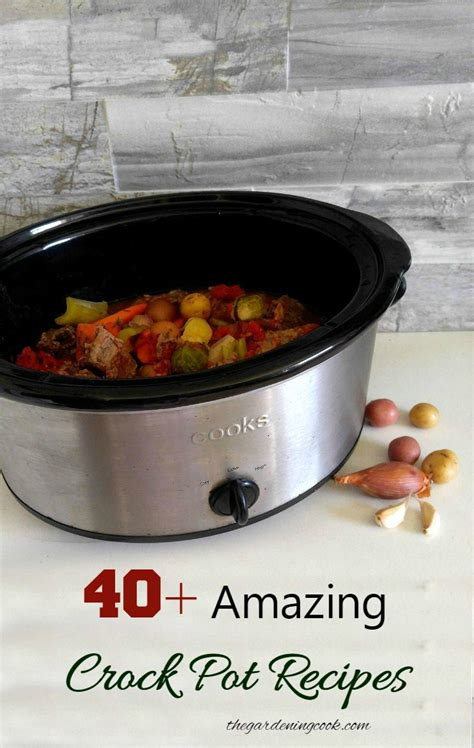 crock pot recipes ideas for cooking with a cooker