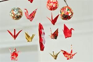 Origami Boule De Noel : diy de l 39 origami en mobile pour no l carnets parisiens ~ Farleysfitness.com Idées de Décoration