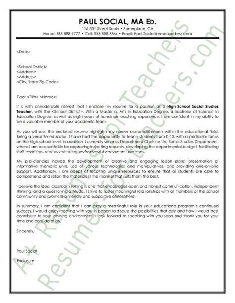 year science teachers cover letter 1000 images about and principal cover letter