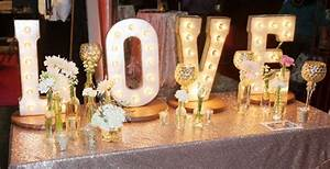 say quoti doquot to the biggest wedding trends of 2016 With marquee letters houston