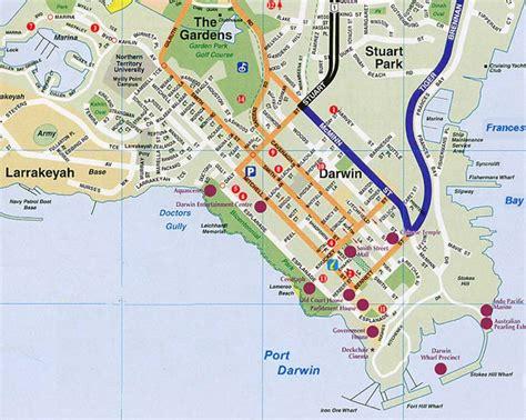 map  darwin australia