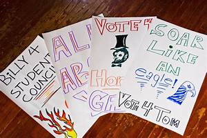 Middle School Campaign Ideas For Student Council Student