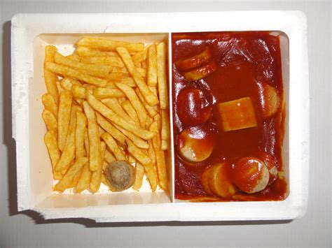 cuisine tv file ready to eat microwave food tv dinner currywurst with fries jpg wikimedia commons