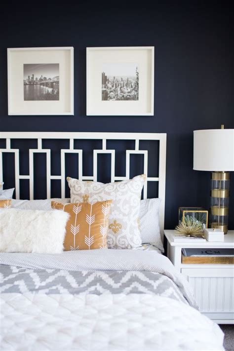 navy blue  grey living room ideas