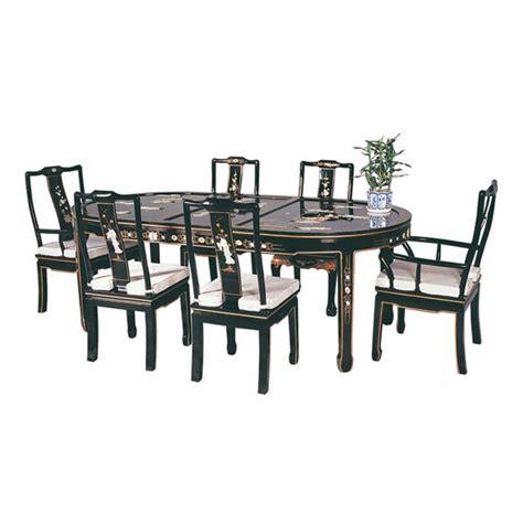 table et chaise de salle a manger table chinoise de salle à manger avec 6 chaises et 2
