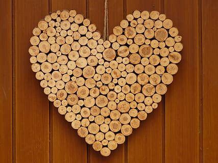 HD wallpaper: brown home sweet home wall frame, wood ...