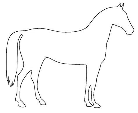 horse template animal templates  premium templates