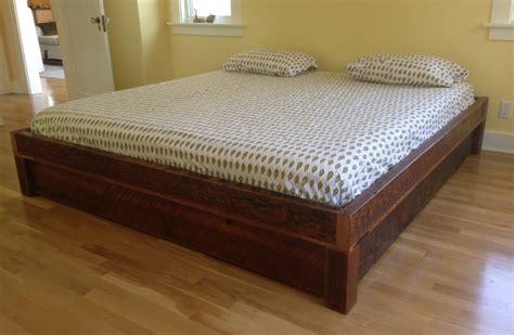 arbor exchange reclaimed wood furniture platform bed