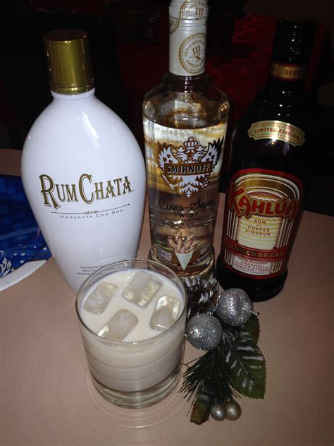 Pour whole milk into large pot and add cinnamon sticks. Rum chata, gingerbread Kahlua, and cinnamon vodka. One word: YUM!!!   Boozy drinks, New years ...