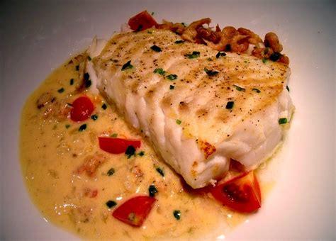 cuisiner le filet de cabillaud coeur de filet de cabillaud aux crevettes grises loftkitchen