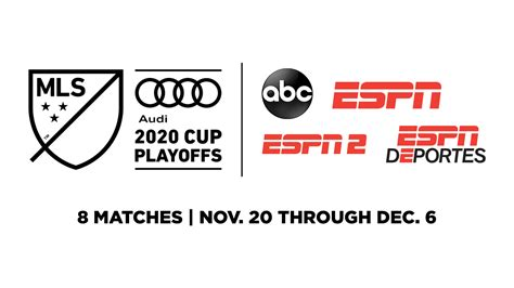 ESPN Kicks Off Audi 2020 MLS Cup Playoffs Coverage Friday ...