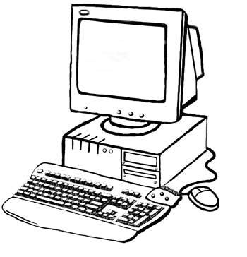 printable coloring pages  computer parts coloring point