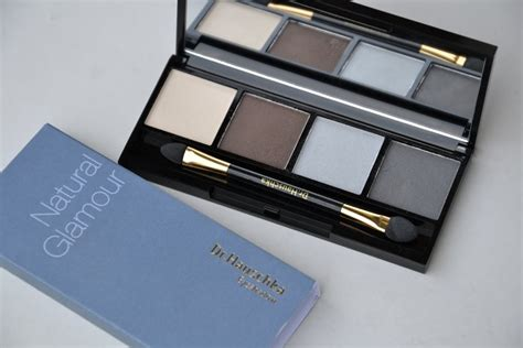 review drhauschka natural glamour eyeshadow palette puraliv