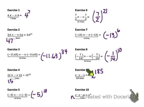 8th Grade Math Module 1 Lesson 1 V3 Youtube