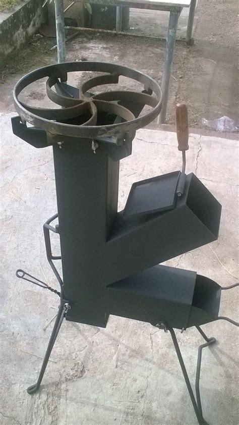 cocina coheterocket stove totalmente desarmable