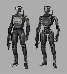 Image result for un robot soldier concept art | Sci-fi ...
