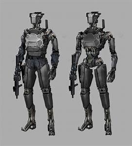 Image result for un robot soldier concept art | Sci-fi ...