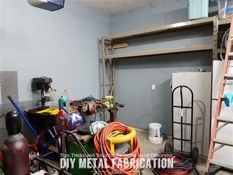 diy   install garage air hose reel diy metal