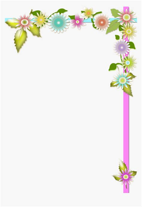 Transparent Bordes Decorativos Png Page Border Design