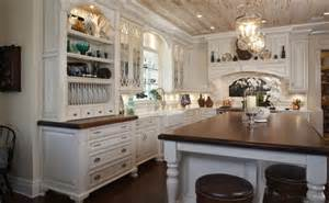 Kitchen Open To Family Room by 50 Beautiful Country Kitchen Design Ideas For Inspiration