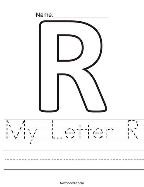 the letter r 2 my letter r worksheet twisty noodle