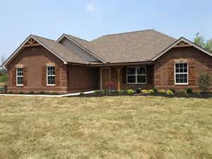Brick and Stone Ranch Houses