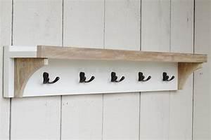 Coat, Rack, With, Shelf, 5, Hooks