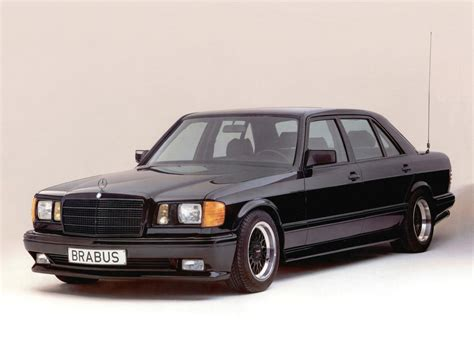 Brabus Mercedes S Klasse 560sel 60 W126