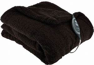 sunbeam oversized 60 x 70 sherpa heated throw electric With best oversized throw blanket