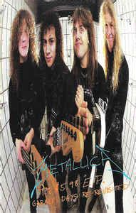 Metallica  The $598 Ep  Garage Days Rerevisited
