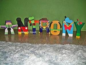 disney assorted character letter art With disney character letter art
