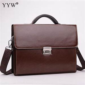 Business Male Bag Men'S Executive Briefcase Black ...