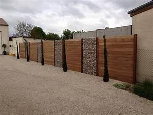 Mur De Cloture En Gabion : cuisine en brique ouverte sur salon ~ Edinachiropracticcenter.com Idées de Décoration