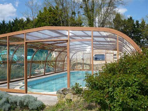 abri haut piscine poolabri abri piscine haut bois