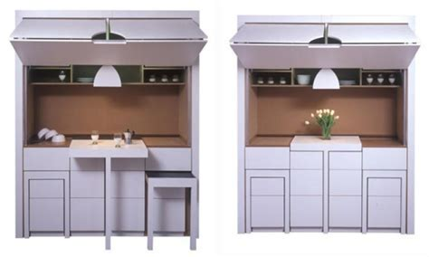 The Oma's Rache   Flat Pack Compact Kitchen