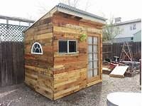 how to build a garden shed Hometalk | Building a Garden Shed From Pallets