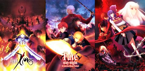 how to watch fate anime series in order official fate stay fate zero thread unlimited blade