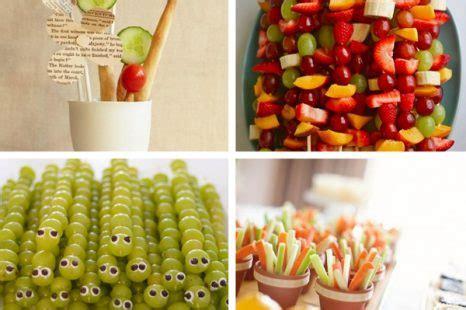 kindergeburtstag gesunde snacks gesunde snacks kinder mummyandmini