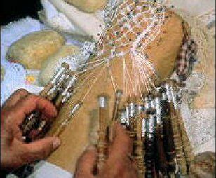 maltese bobbin lace making bobbin lace lace making