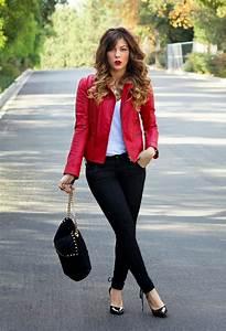 Red Leather Jackets u2013 Jackets