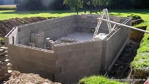 Swimmingpool Selber Bauen : tipps pool mit schalsteinen selber mauern pool selber ~ Watch28wear.com Haus und Dekorationen