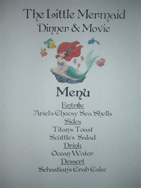 craftzilla disney  nights   mermaid